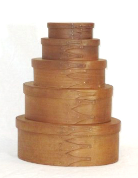 Stack of Treeditions' Shaker Boxes